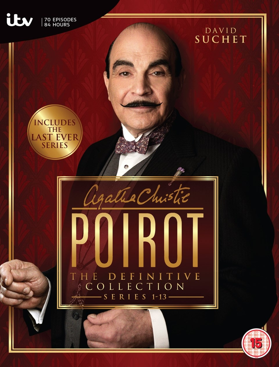 Agatha Christie's Poirot: The Definitive Collection - Series 1-13 - 1