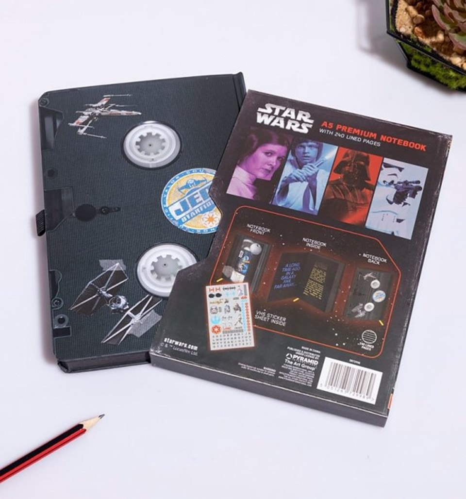 Star Wars (A New Hope) VHS Premium A5 Notebook - 5