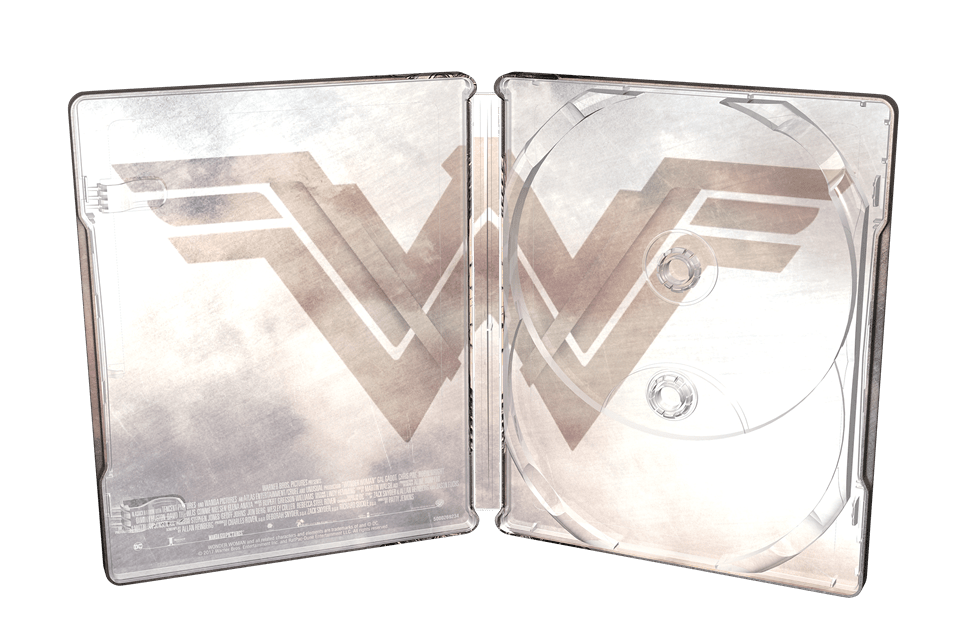 Wonder Woman Titans of Cult Limited Edition 4K Steelbook - 5
