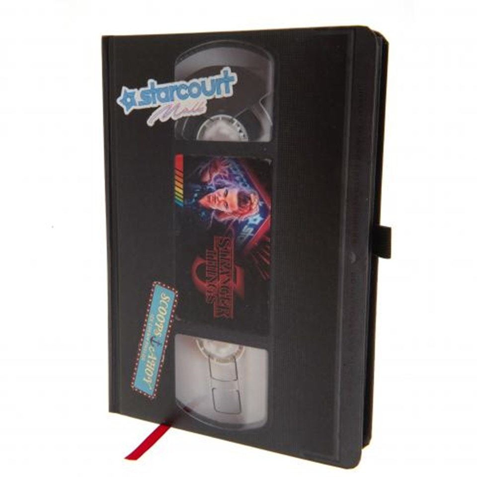 Stranger Things (S3) VHS Premium A5 Notebook - 2