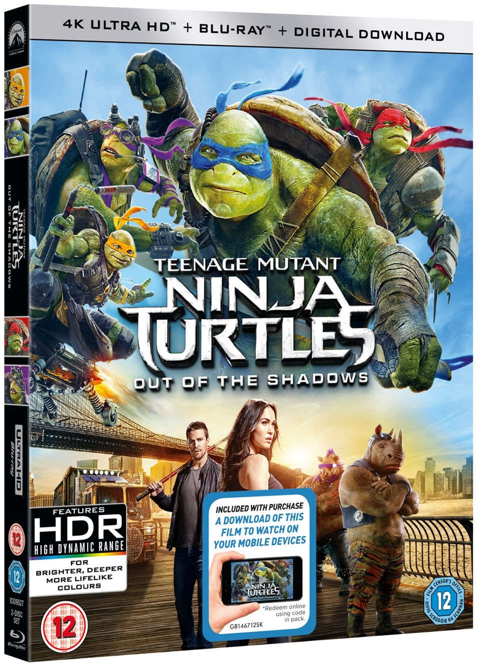 Teenage Mutant Ninja Turtles: Out of the Shadows - 2