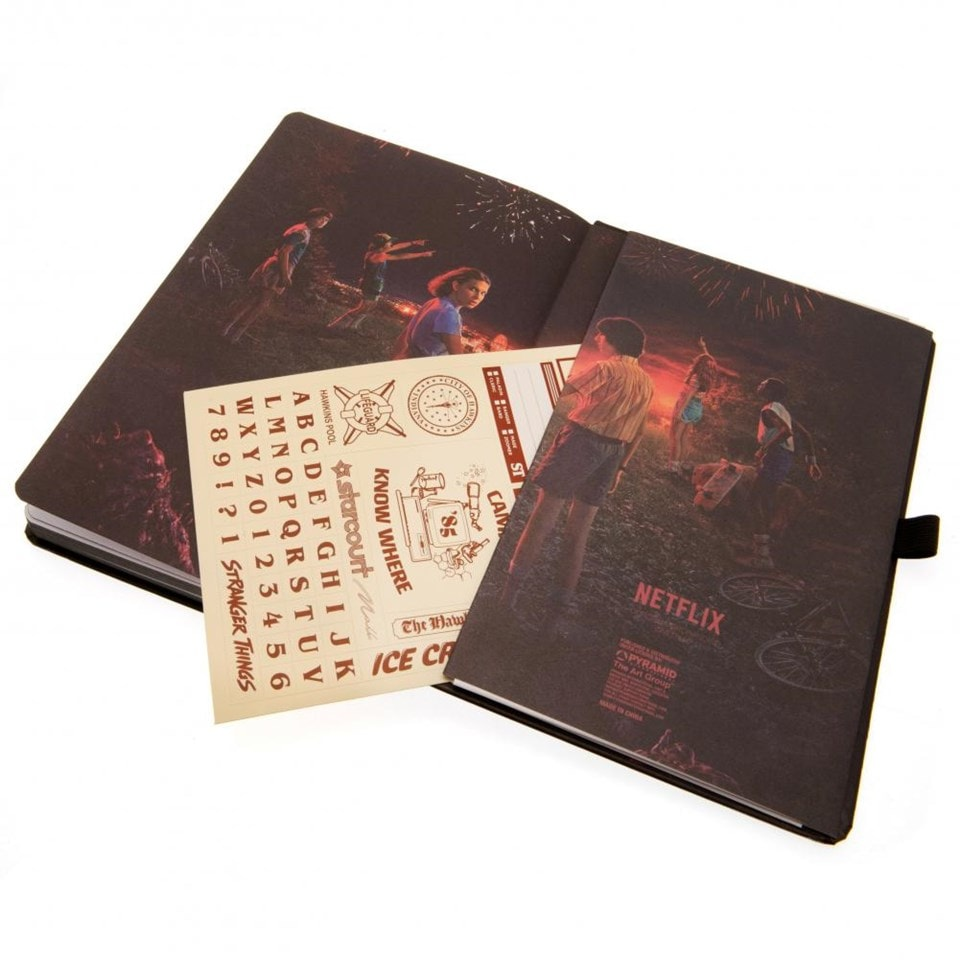 Stranger Things (S3) VHS Premium A5 Notebook - 4