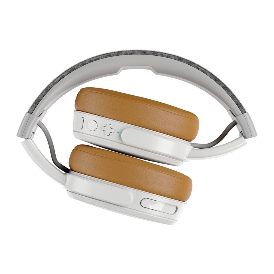 Skullcandy Crusher Grey/Tan Bluetooth Headphones - 4