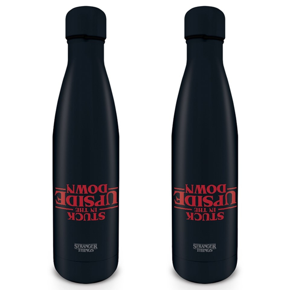 Metal Drink Bottle: Stranger Things - 1