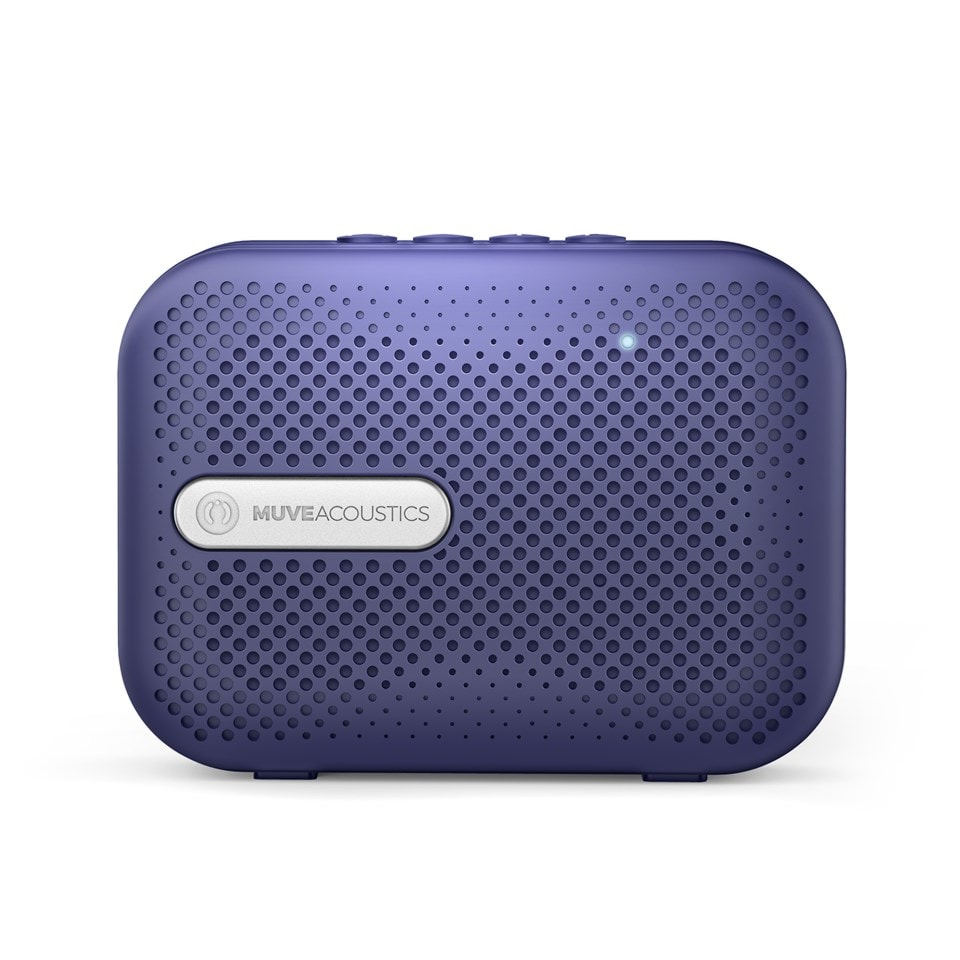 Muve Acoustic Box Blue Bluetooth Speaker - 2