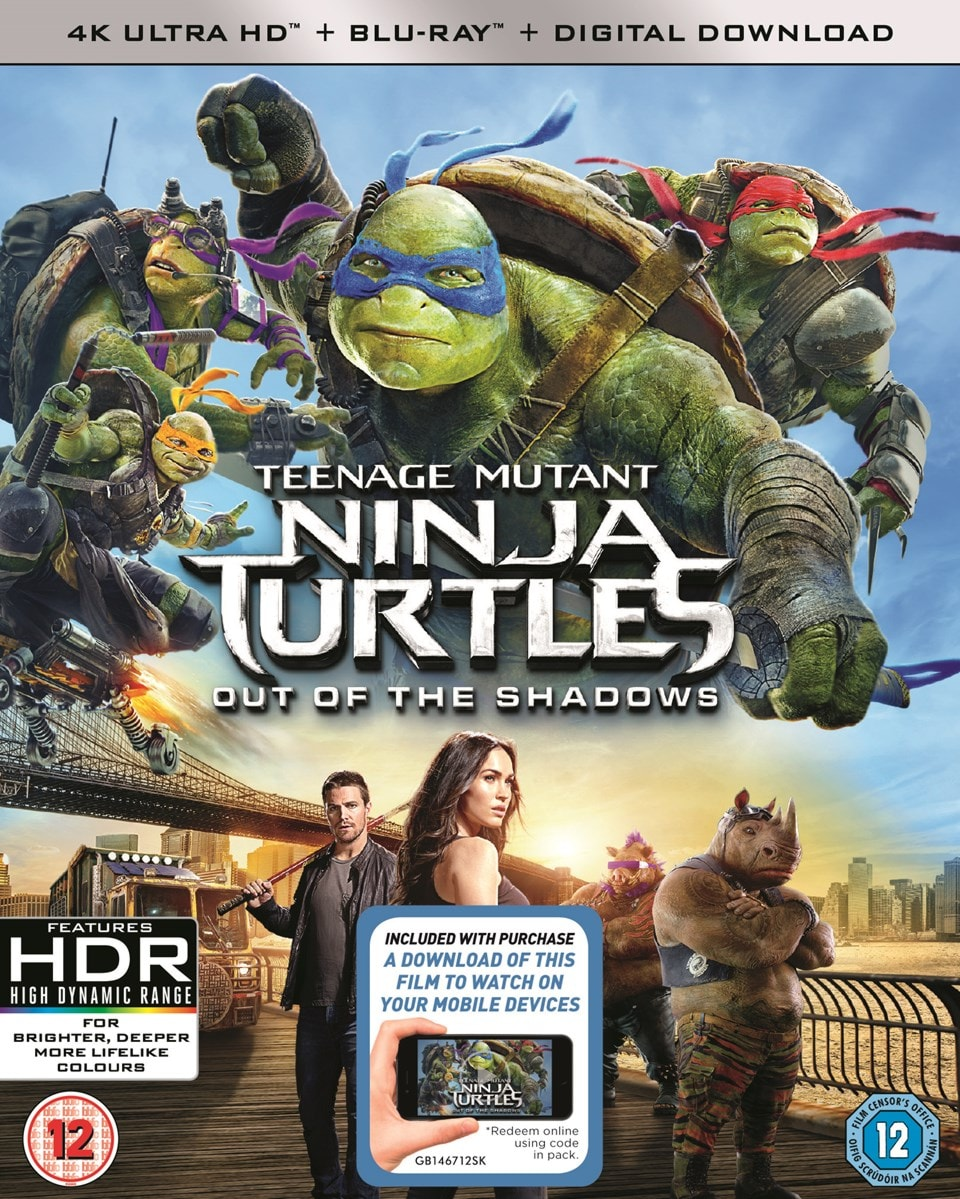 Teenage Mutant Ninja Turtles: Out of the Shadows - 1