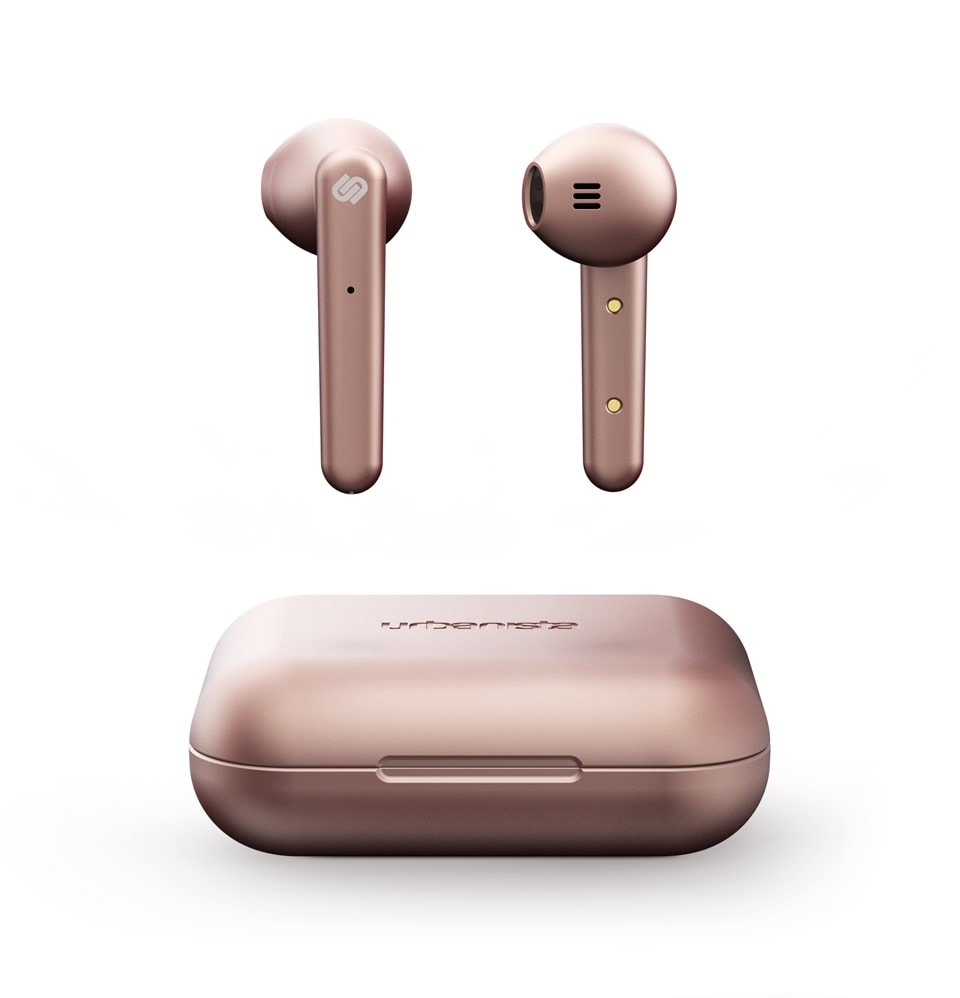 Urbanista Stockholm Rose Gold True Wireless Bluetooth Earphones - 1