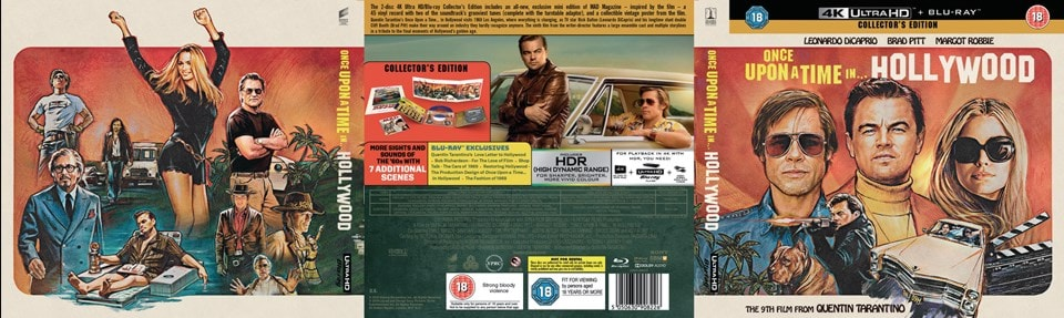 Once Upon a Time In... Hollywood (hmv Exclusive) - First Edition - 3