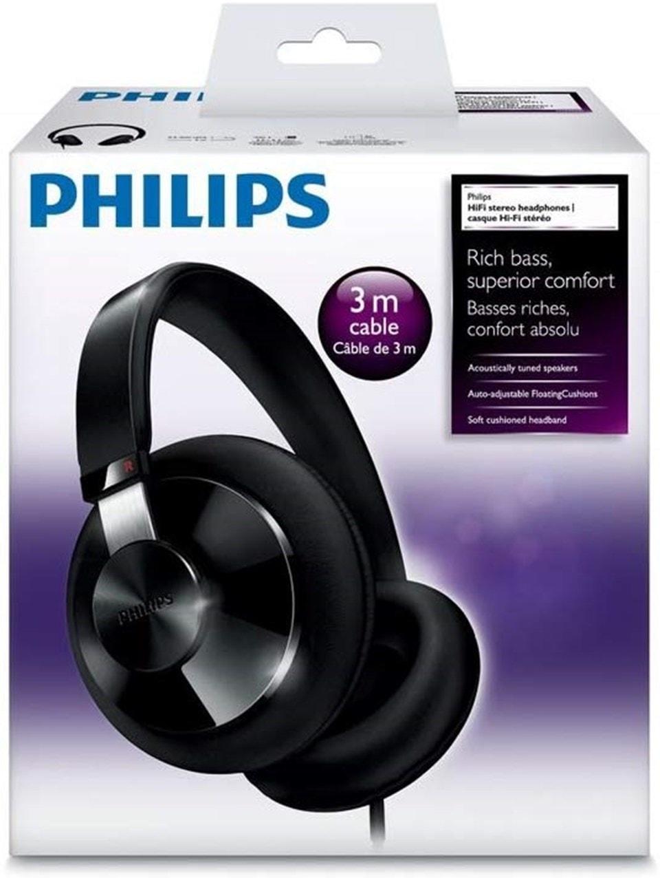 Philips SHP6000 Black Headphones - 4
