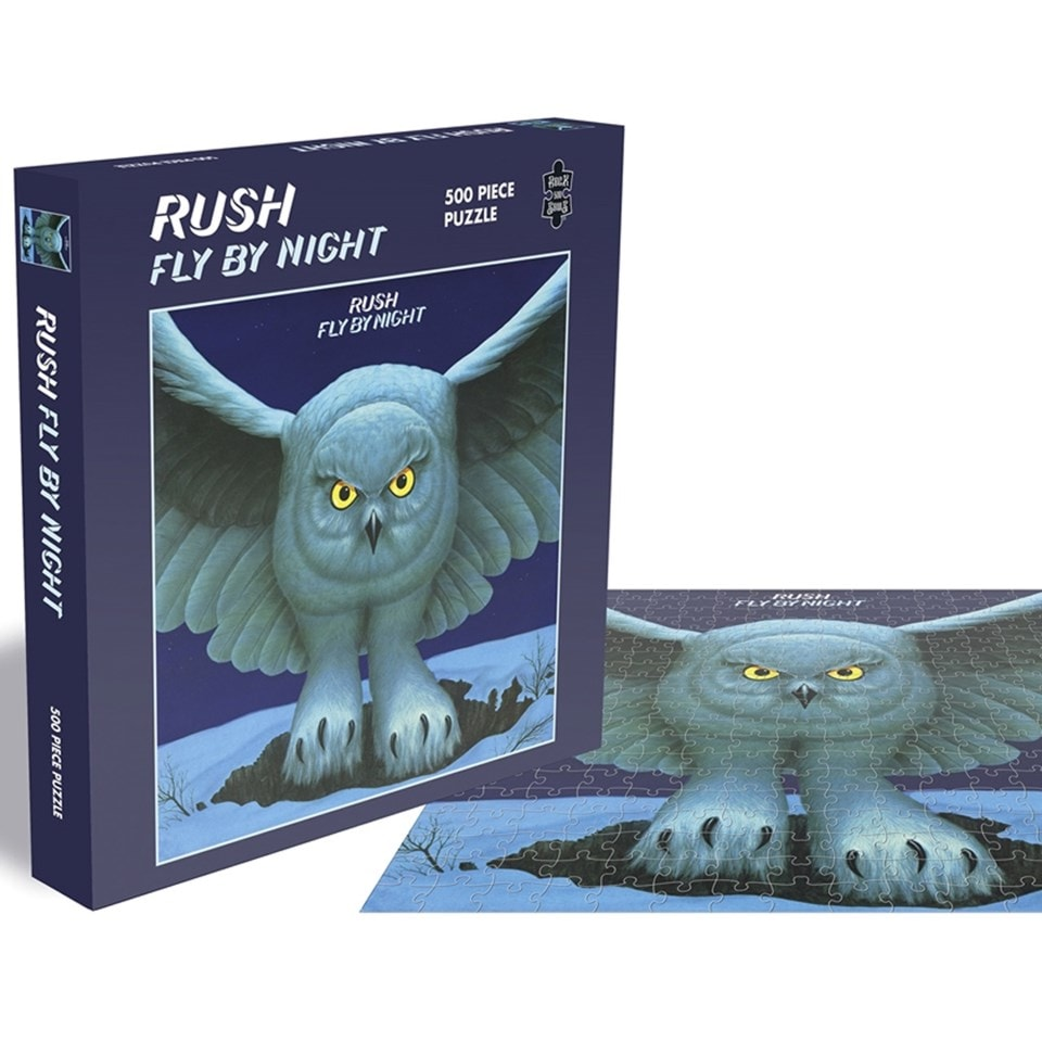 Rush - Fly By Night: 500 Piece Jigsaw Puzzle - 1