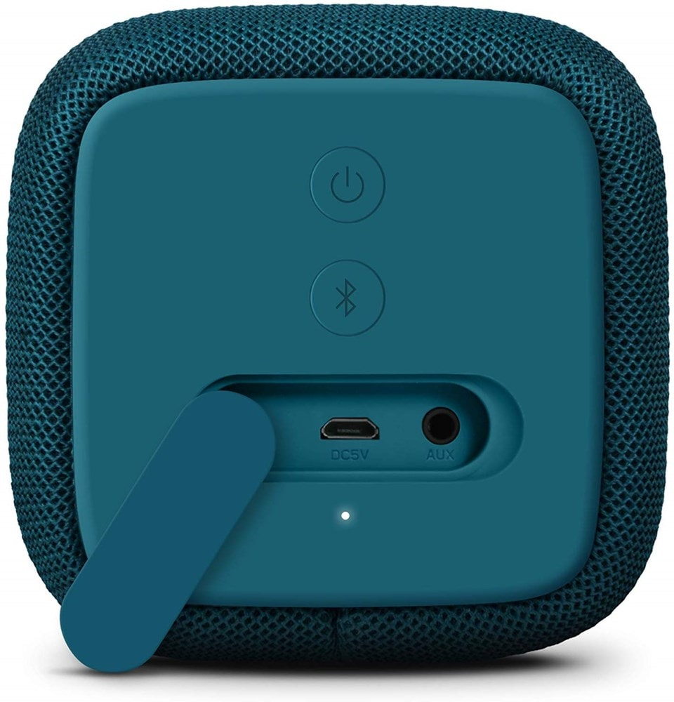 Fresh n Rebel Bold S Petrol Blue Bluetooth Speaker - 2